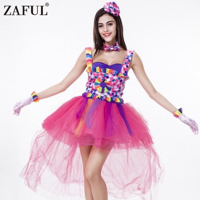 Colorido cantante vestido Cosplay disfraces Halloween lindo Lolita ...