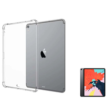 Transparent TPU Cover Case for iPad Pro 11 12.9 2018 Slim Soft Silicon  Shockproof Tablet inch Funda