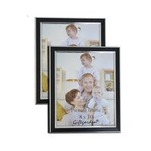 Giftgarden Photo Frame 8x10 Black Photo Frame Set Picture Frames Home Decor Wall Decoration, Glass Front Set of 2