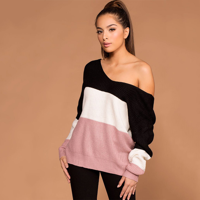 Criss Cross Backless Women Sweaters and Pullovers  3