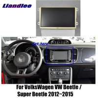 Liandlee For VolksWagen Super Beetle 2012~2015 Car Android Radio Player GPS NAVI Maps HD Touch Screen TV Multimedia No CD DVD