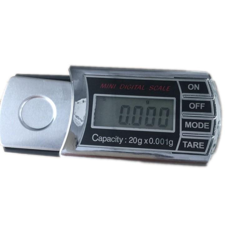 20g 0.001g Digital LCD Equilíbrio de Peso