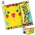 Crianças Dos Desenhos Animados Anime Japonês Pokemon Pikachu Carteira de Couro PU Bolsa de Dinheiro de Bolso Titular Do Cartão de Moeda para As Crianças Meninas Meninos
