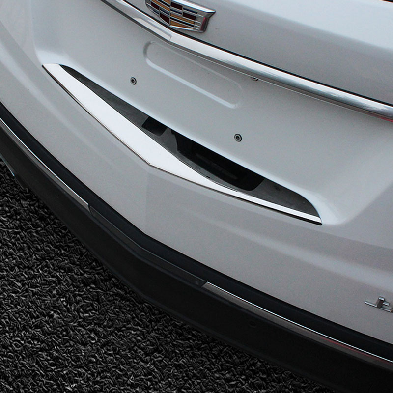 Rear Bumper Door Sill Plate Scuff For Cadillac XT5 2016 2017 Stainless Steel-in Nerf Bars u0026 Running Boards from Automobiles u0026 Motorcycles on Aliexpress.com ... & Rear Bumper Door Sill Plate Scuff For Cadillac XT5 2016 2017 ...
