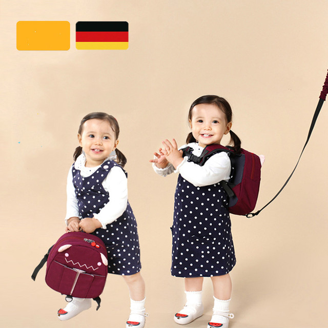 Lindo bebé niños de dibujos animados mochila ajustable de seguridad del  niño cinturón dibujos animados forma 7658d28f557c