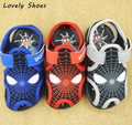 Baby Boys Spiderman Sandals 2017 New Kids Beach Shoes Garden Shoe For Children Sandal Slippers Boys And Girls Flat Free Shipping