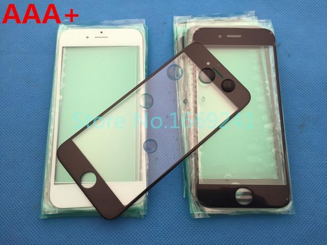 06d92f48c06 10 unids/lote nuevo reemplazo LCD frontal de pantalla táctil de cristal  lente exterior para