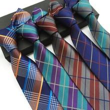8cm Mens Ties New Man Fashion Dot Neckties Gravata Jacquard Slim Tie Business Black Blue Green For Men Wedding Party Work