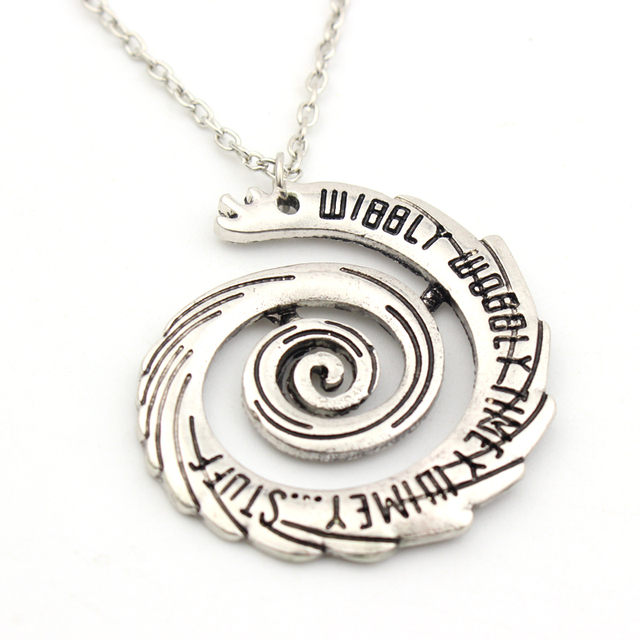 Classic Doctor Who Hollow Women Chain Necklace