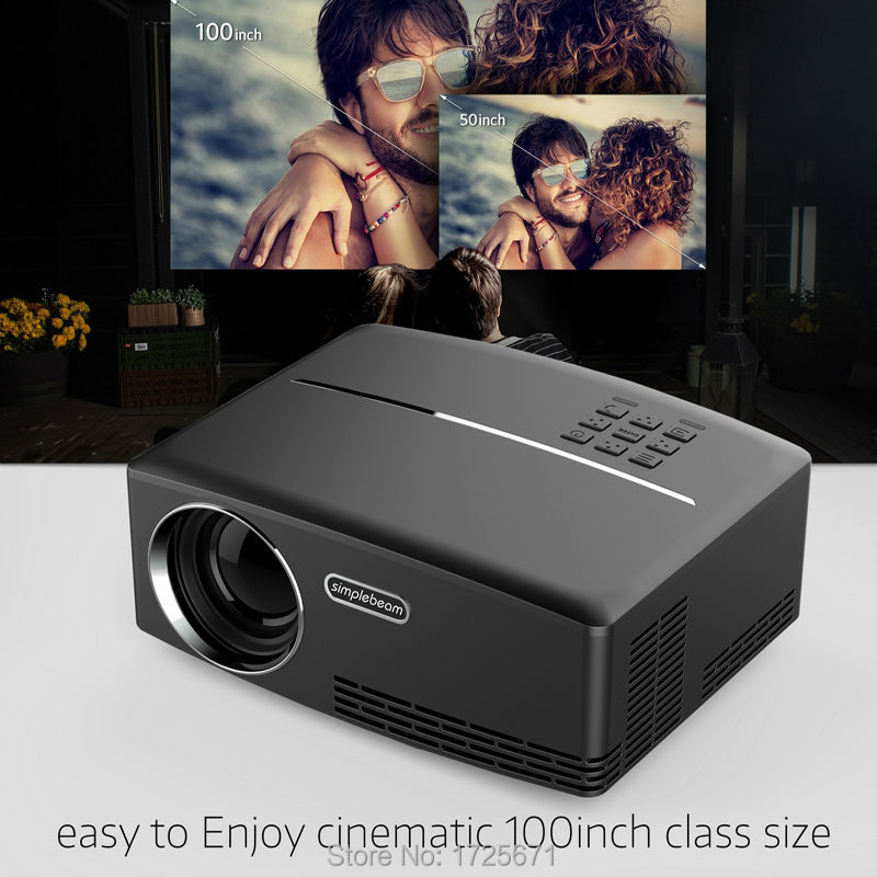 Vivibright GP80 Mini projector (11)