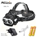 AloneFire HP20 8000LM 2x XM-L T6 LED Headlamp Headlight Bright Head Light Waterproof Flashlight High Power LED Headlamp