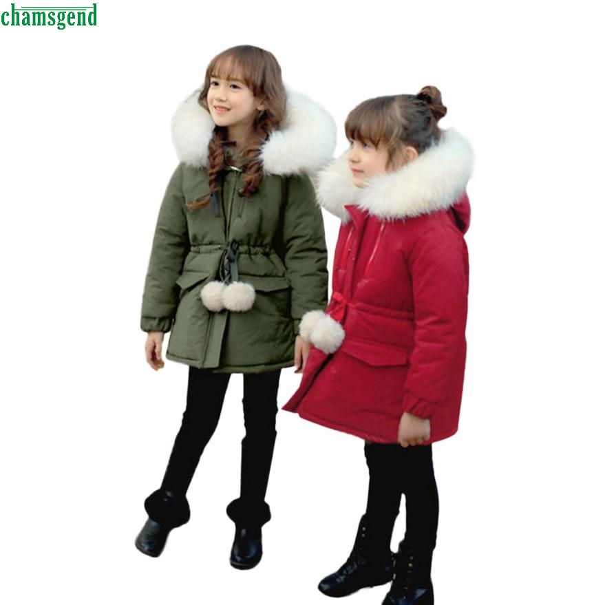 Winter New Style Girl Cotton Coat Outwear Kids Jacket Children 's Cotton Thick H30  Oct1 2017 astrid big size winter women s jacket coat warm down jacket women s large parkas new winter cotton outwear am 2680
