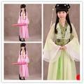 Ropa china tang dynasty danza dress ancient hanfu hanfu traje chino china girls dress cosplay princesa children dress 1