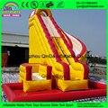 2016 de alta qualidade da classe comercial escorregadores infláveis/corrediça de água inflável gigante para adultos