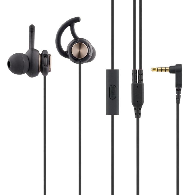 2018 Heavy Bass Stereo earphones fashion shark fin earphone Sport comfortbale headset with mic for phone xiaomi iphone samsung