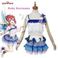 UWOWO Ruby Kurosawa Cosplay Love Live Sunshine Aqours Angel Awake Idolized Costume Ruby Kurosawa Cosplay Love