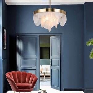 Image 2 - Скандинавский подвесной светильник Aplomb, современные светодиодные подвесные светильники, белая Подвесная лампа, алюминиевая Люстра для гостиной, кухни, светильники