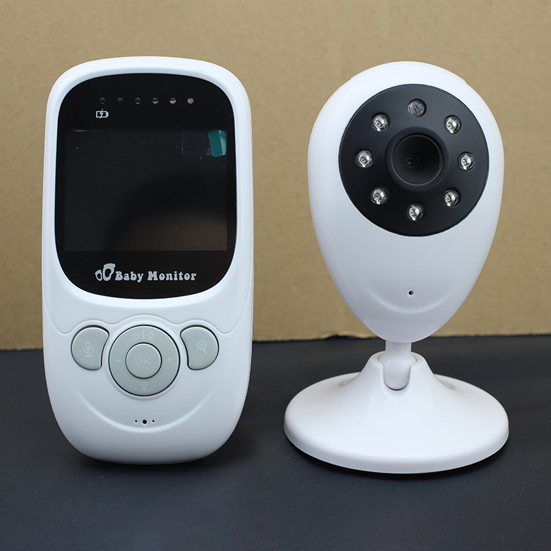 2.4 inch Wireless Baby Monitors Video Security Camera 2.4GHz Monitor  Audio Night Vision Temperature Detection/ fpv 1 2ghz 100mw 4ch wireless audio