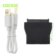 USB 3.0 To SATA II 3Gb/s Hard Disk Drive Cable External 2.5″ 3.5″ HDD SSD Adapter USB3.0 TO SATA Converter