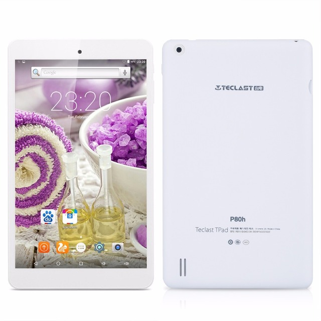 Teclast P80H Android 5.1 64bit MTK8163 Quad Core IPS 1280×800 Dual WIFI 2.4G/5G HDMI GPS Bluetooth 8 inch Tablet PCs