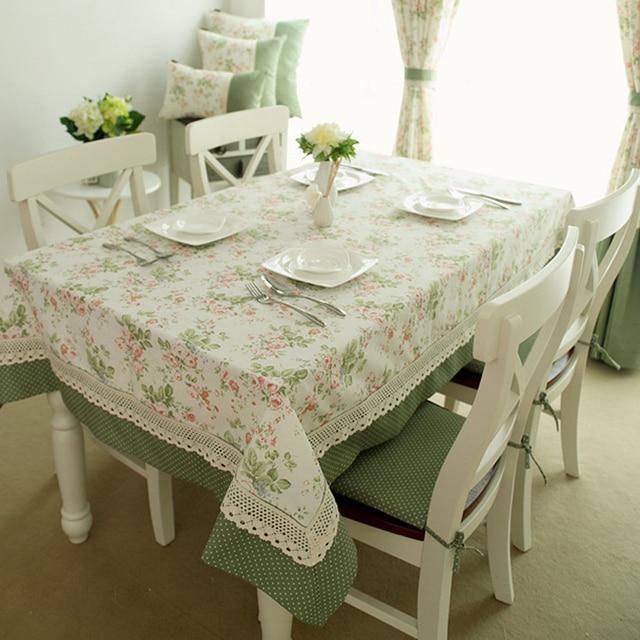 Elegante casa textil de encaje mantel mesa tela de punto mesa de ...
