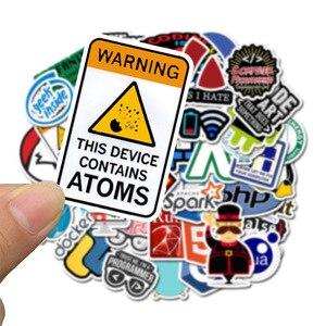 Image 2 - 50 Pcs אינטרנט Java מדבקת חנון מתכנת Php דוקר Html Bitcoin ענן C + + תכנות שפת רכב מדבקות f5