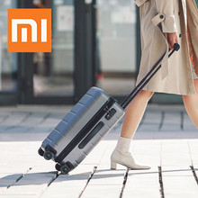 XIAOMI 90FUN PC Suitcase Carry on Spinner Wheels Rolling Luggage TSA lock Business Travel Vacation for Women men xiaomi 90fun business travel dual function rolling luggage with lock spinner pc suitcase trolley carry on travel bag 20 24 28