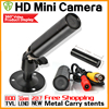 17hot Metal Mini Hd 1 3cmos Real 1200TVL Cctv MINI Camera 3 6mm LENS Security Surveillance