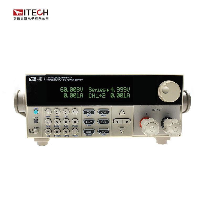 ITECH IT8511+ 120V/30A/150W Single-Channel Programmable Electronic Load DC Electronic Load itech celb44n сильвер
