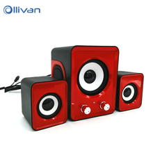 3.5mm Subwoofer Speaker Ofnote YD – UP 2.1 Multimedia Loudspeaker Sound box Speaker for the Computer Mobile Phone PC for xiaomi