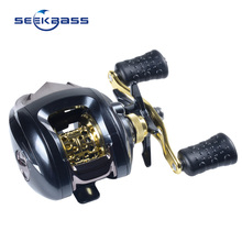 SEEKBASS EXPERT 12+1 Ball Bearings Baitcasting Reel Fishing Fly High Speed Fishing Reel with Magnetic Brake System Quality Fishi