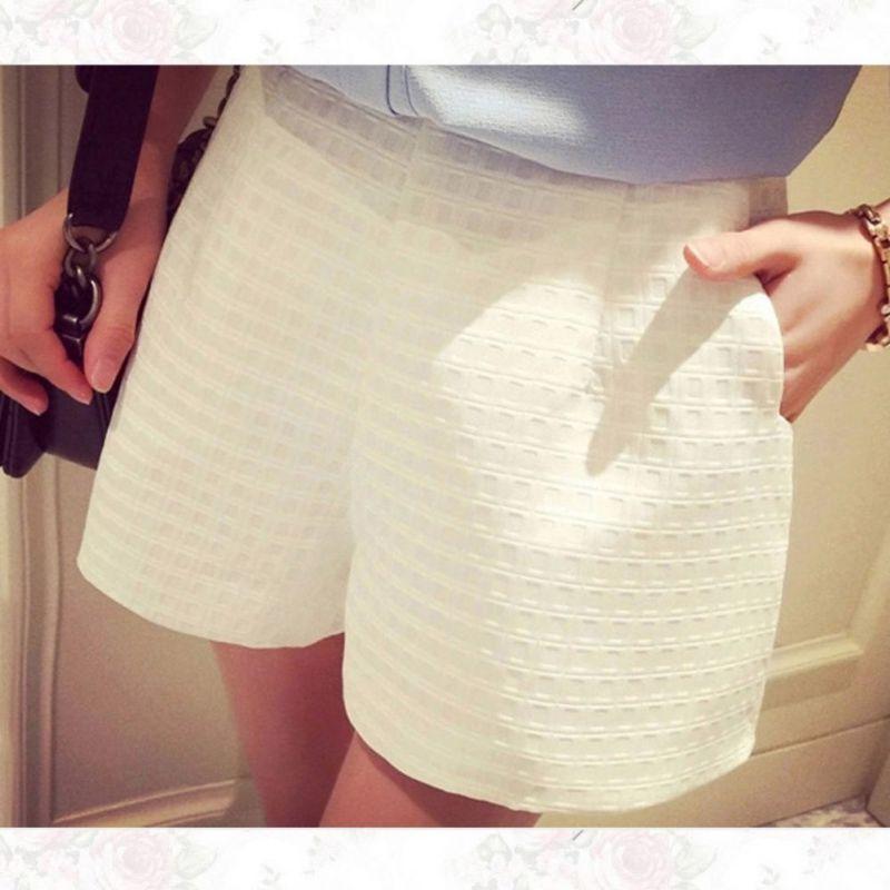 SILVERCELL Women High Waist   Shorts   Europe Style Fashion Women Casual Plaid   Shorts   Summer Jeans   Shorts