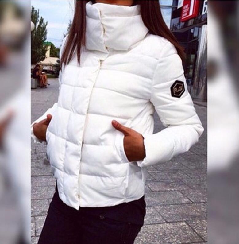 2017 NEW Women Coat Fashion Autumn Winter Female Down Jacket Women Parkas Casual Jackets Inverno Parka Wadded plus size