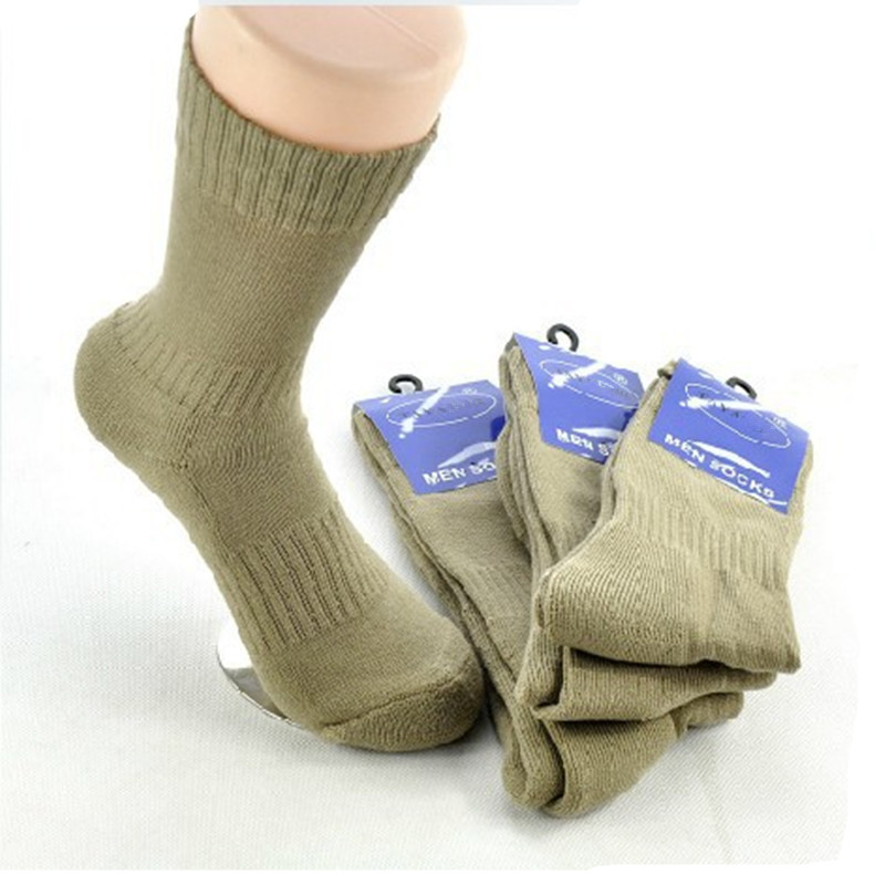 2 Pairs/Lot Outdoor Military Army Winter Combat Pile Towel Socks Warm Cotton Sports Socks Men Cotton Socks