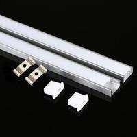 DHL 1M LED strip aluminum profile for 5050 5730 LED hard bar light led bar aluminum channel housing with cover end cover