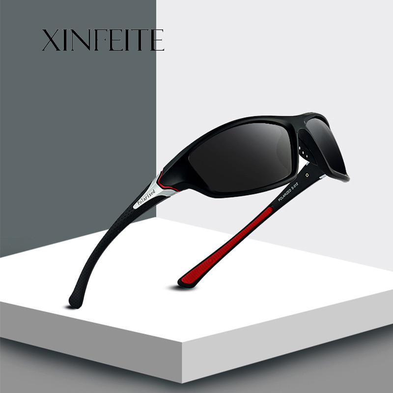 b779fa0a8ec Xinfeite Sunglasses Classic High Quality PC Frame HD Lens Polarized UV400  Outdoor Sports Sun Glasses For Men Women X429 -in Sunglasses from Apparel  ...