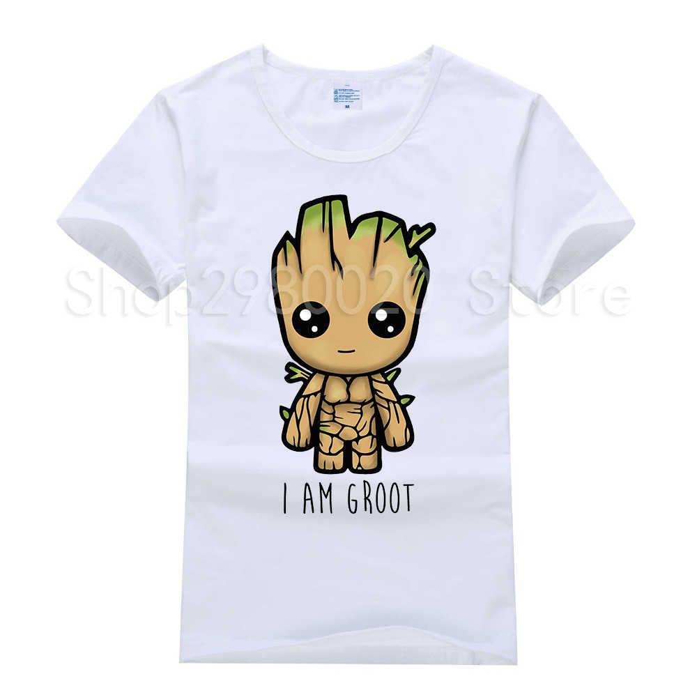 Groot bebé Navidad Luces Guardianes de la galaxia para hombres Camiseta