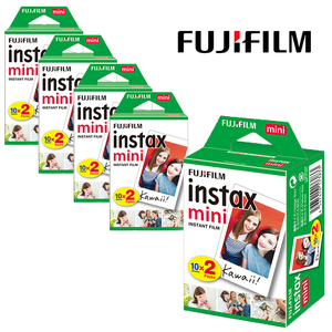 Image 2 - Authentique 100 feuilles Fujifilm Instax Mini film blanc pour Fuji 7s 8 9 11 caméra Photo instantanée SP2 SP1 imprimante LINK