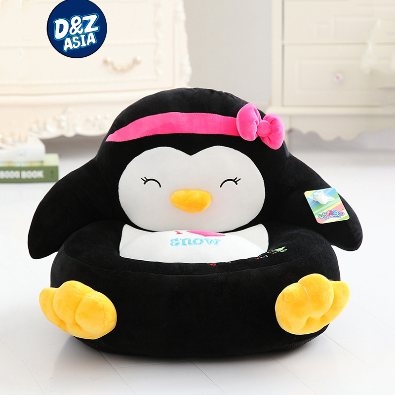 Plush Toy Duck Lazy Sofa Cartoon Child Sofa Creative Penguin Frog kids plush chair Seat Doll Gift couple frog plush toy frog prince doll toy doll wedding gift ideas children stuffed toy