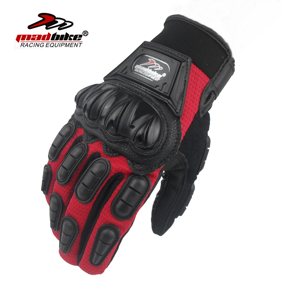 MadBike Brand Motorcycle Gloves Sport Guantes Moto Motocross Glove Outdoor Gants Luva Ciclismo Breathable Mitten For Men Women racmmer cycling gloves guantes ciclismo non slip breathable mens