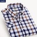 Despacho de la venta hombres de la camisa de manga corta a cuadros informal camisa de los hombres clothing dress shirts hombres moda camisa masculina nuevo 2017