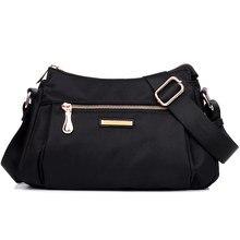 Nouvelle arrivée imperméable en nylon femmes sacs à bandoulière petit casual lady bandoulière sac marque de messager femelle sac