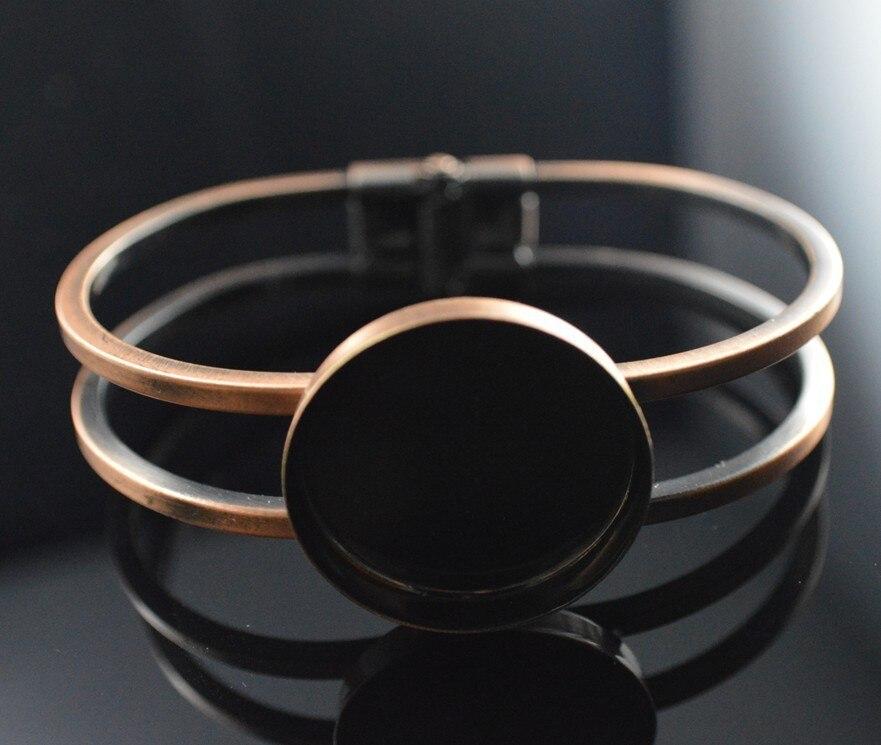 Doprava zdarma, náramek s kulatým náramkem o průměru 25 mm, prázdný podnos, rámeček, nastavení brašny, šperky
