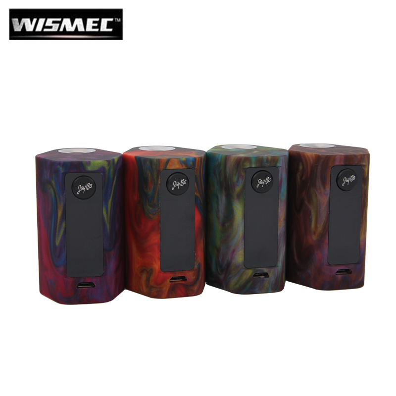 Original Wismec Reuleaux RX Mini Resin Version 80W RXmini Box Mod Vape 2100mah Built-In Battery E Cigarette green cigs original wismec active bluetooth music tc box mod with 2100mah built in battery
