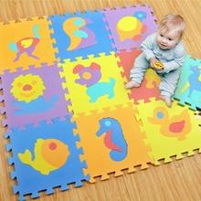 10pcs set Baby Toys Play Mat Puzzle Mats Playing Carpet Children s Developing Crawling Rugs Babies