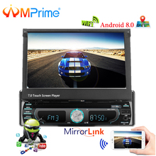 "AMPrime 1 Din Radio  Android 8.0 Car Multimedia 7 "" HD Car Styling Autoradio GPS Navigation Car Audio Player with Bluetooth Wifi"