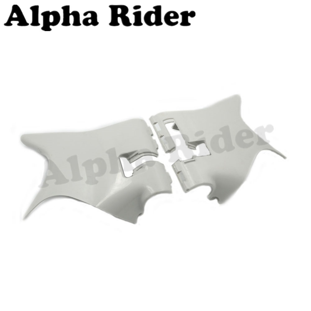 Motorcycle ABS Plastic Neck Cover Cowl Wire Covers Side Frame Guard Unpaint for Honda Shadow VT600 VLX600 STEED 400 1988-1998 for 88 98 honda shadow vt600 vlx 600 steed 400 motorcycle abs plastic frame neck cover cowl wire covers side frame guard black