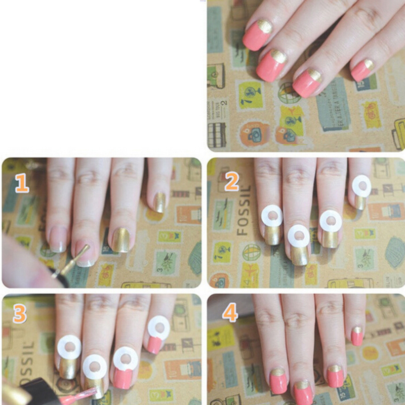 Nails Decal Rhinestones & Decorations French Manicure Nail Art Tips ...