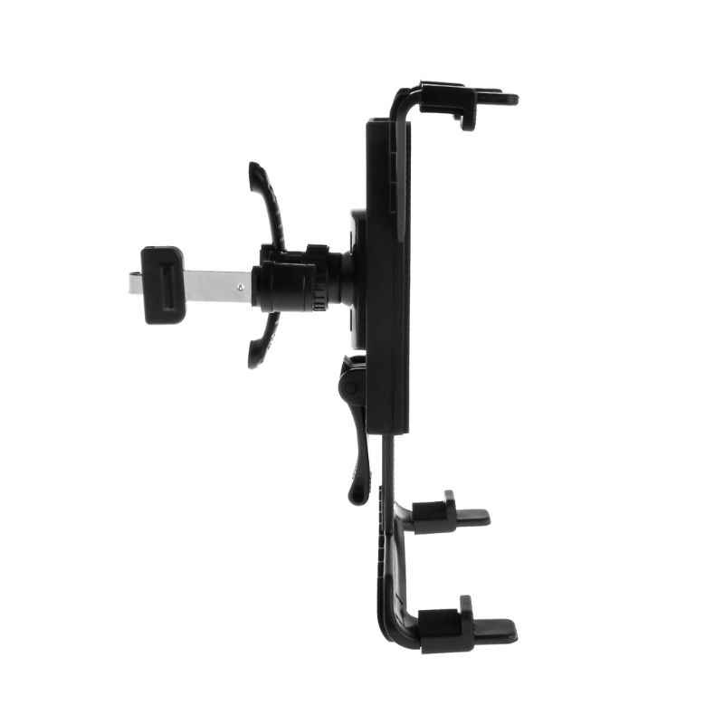 Car Air Outlet Tablet Holder Stand Bracket Backseat Seat Mount Headrest 360 Rotating Switch for iPad Air Mini