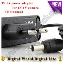 AC 100-240V DC 9V 1A EU Plug AC/DC Power adapter charger Power Adapter for CCTV Camera (2.1mm * 5.5mm)